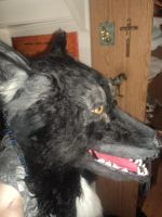 Wolfsuithead TIMBER Sideview by Kreativjunkie