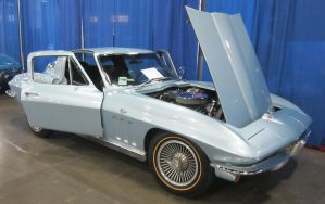 66 Chevy Corvette by zypherion