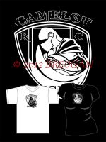 Camelot Knights Rugby C - Merlin Tee Design Fest by Breogan