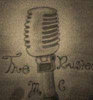 The Rusted Mic Logo by Kristina-Henderson