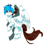Pixel Frost Flare art by picklesquidly101