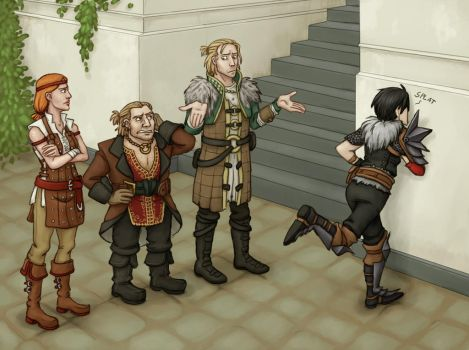Hawke Had One Weakness by Tuinen