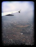 Above Germany by dollaberry