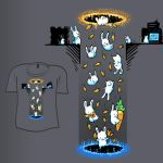 Woot Shirt - Portal Testing by fablefire