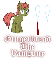Gingerbread the Vampony by Killagouge