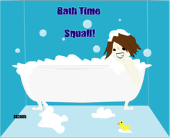 Bath Time Squall by angelrinoa