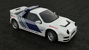 Ford RS200 1 by dan-cable