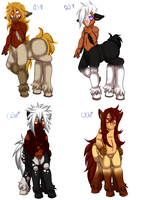 Free Foals 01 (Closed) by GiaZeries