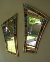 Stained Glass with Mirrors by JimSTARDUST