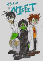 Team Misfit Cover by zombiecatfire13