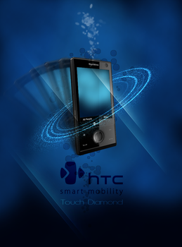 HTC Touch Diamond by croche08