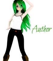MMD NEWCOMER Author (DOWNLOAD) by Yozane