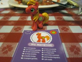 Big Mac at the Dinner Table by purpletinker