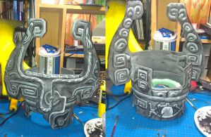 Midna Helm Front and Back by Bratchan