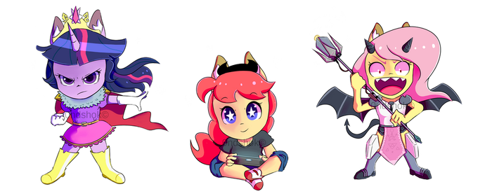 Chibi series 01 by 0ndshok