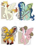 Adoptable Batch 7 [Auction+AB] [CLOSED] by quila111