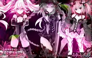 Fairy Fencer F and Hyperdimension Neptunia by Lucy051