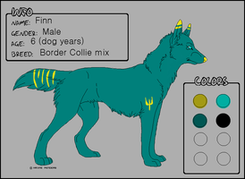 Canine adoptable for sale! by daunt-less