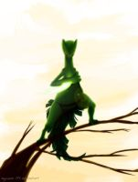Sceptile with Leaf Blade by Nyuwa-59