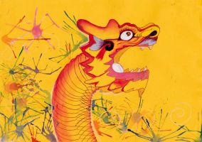 Chinese New Year Dragon by Tingcat