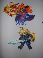 Gourry and Lina Perlers by bahamut6666