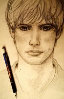 Arthur WIP by MorgainePendragon