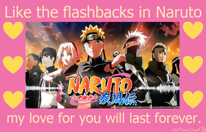 Naruto Valentine: Flashbacks Last Forever by FrozenClaws