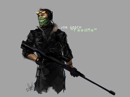 COD!AU Feed Me concept by deathdetonation