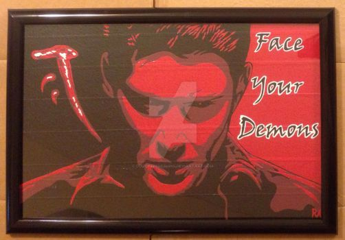 Deanmon Duct Tape Art by DuctTapeDesigns