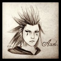 Axel Sketch by Cate397