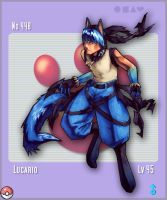 Lucario by taintedsilence