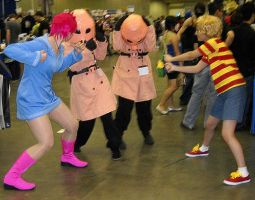 Pigmasks at Otakon by Skittycat