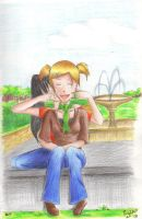 in a park by ayako-chibi-chan
