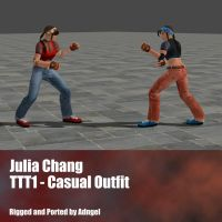 Julia Chang TTT1 Casual Outfit by Adngel
