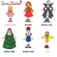 Rozen Maiden characters by karoru-chan
