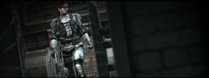 Metal gear solid 2 - Solid snake hd by WeskerFan1236