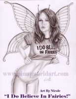 'I do Believe in Fairies' by NicoleBrune
