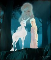 The Last Unicorn by MonicaHooda