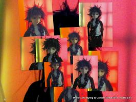 My BJD SD13 Boy has new Visual kei hairstyle by ibr-remote