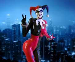 Harley Quinn by Posereality4