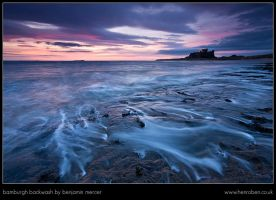Bamburgh Backwash by henroben