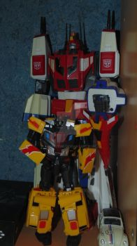 Laster  and Star Saber by RadimusSG