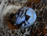 FOR SALE! Blue dragon hatchling by queenofeagles
