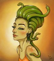 Medusa by maria-istrate