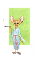 Fennec Fox commission by M-S-S