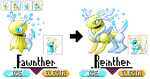 GBA Pokemon Hack: Pokemon 6- Ethereal Elks of Eden by dragon-du-22