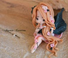 fairy pink rose by AngeniaC