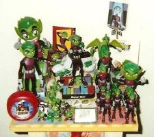 My Beast Boy shrine by BrittyDee