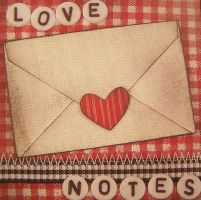 Tag - Word: Love Notes by Gracies-Stock