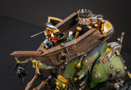 Warmachine Galleon named Shore Leave 3 by IgenSTilch